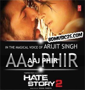 guitar chords of aaj phir tum par