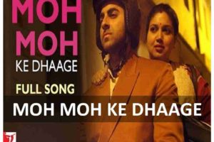 guitar chords of moh moh ke dhaage