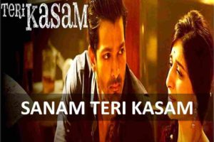 guitar chords of sanam teri kasam