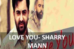 guitar chords of love you - sharry mann