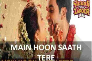 CHORDS OF MAIN HOON SAATH TERE