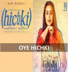 CHORDS OF OYE HICHKI