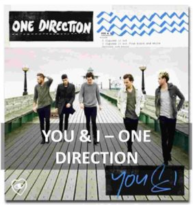 CHORDS OF YOU & I