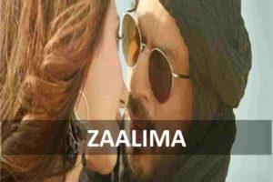 CHORDS OF ZAALIMA