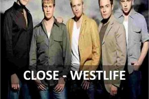 chords of close westlife