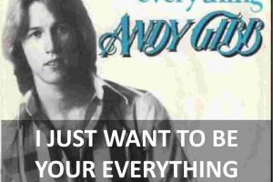 CHORDS OF I JUST WANT TO BE YOUR EVERYTHING