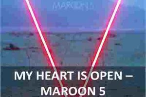 CHORDS OF MY HEART IS OPEN