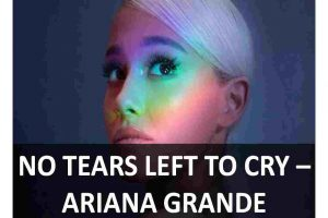 CHORDS OF NO TEARS LEFT TO CRY