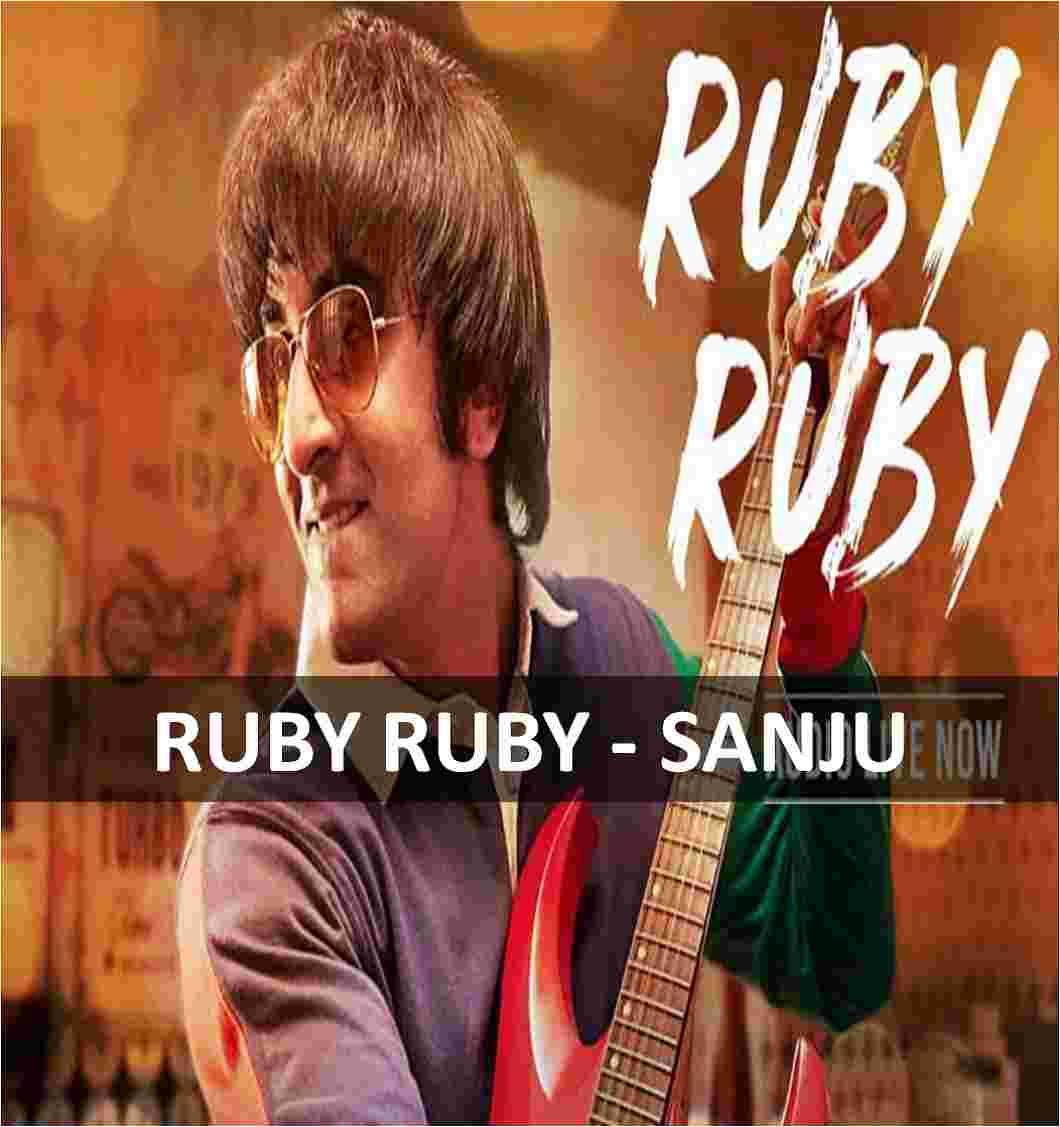 CHORDS OF RUBY RUBY