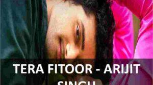chords of tera fitoor