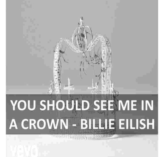 CHORDS OF YOU SHOULD SEE ME IN A CROWN