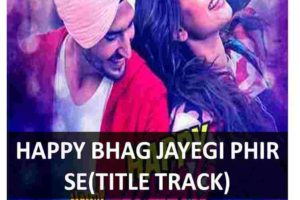 CHORDS OF HAPPY BHAG JAYEGI