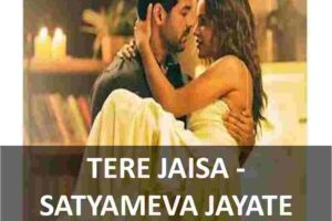 CHORDS OF TERE JAISA