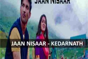 CHORDS OF JAAN NISAAR