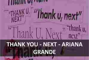 CHORD OF THANK YOU, NEXT