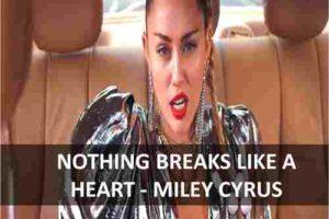 CHORDS OF NOTHING BREAKS LIKE A HEART