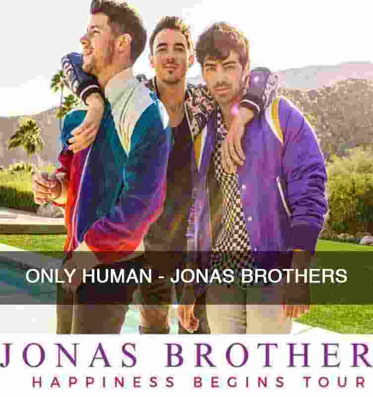 CHORDS OF ONLY HUMAN - JONAS BROTHERS