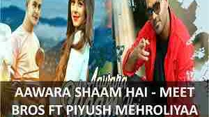 AAWARA SHAAM HAI GUITAR CHORDS