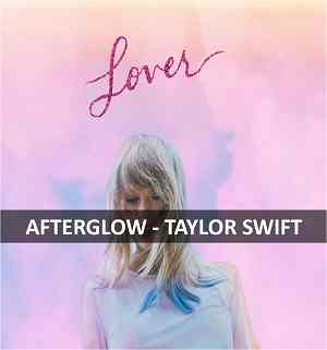 AFTERGLOW GUITAR CHORDS